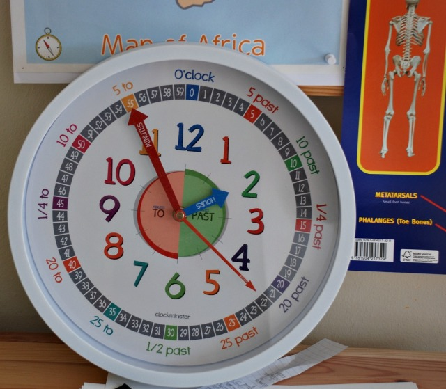 silent learning clock