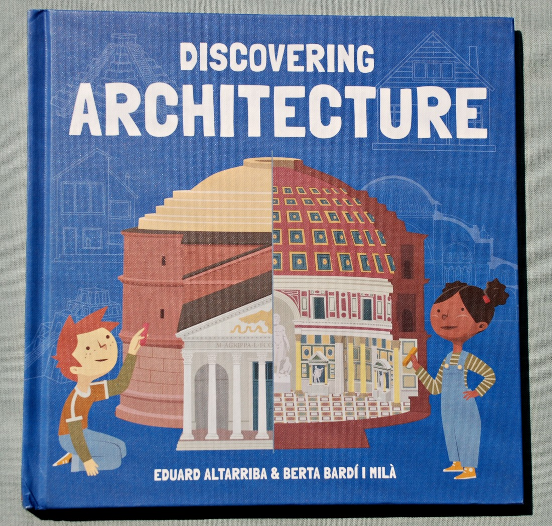 Discovering Architecture book for kids. Great introduction to Architecture