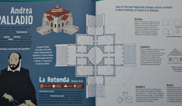 Discovering Architecture Book for kids by Button Books