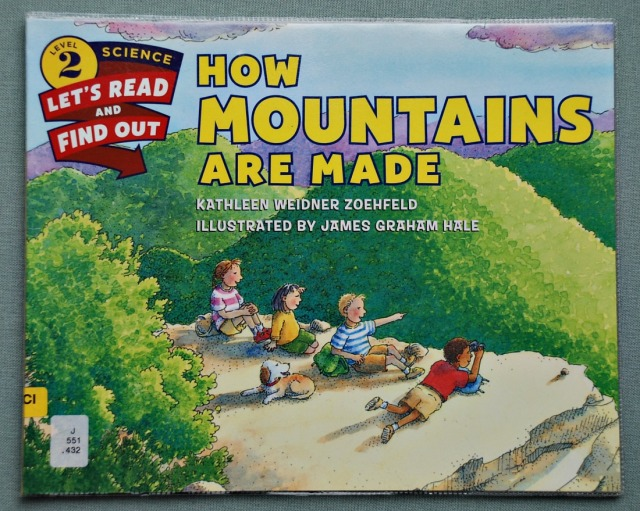 How Mountains Are Made a Science book for younger kids.  Perfect for Key Stage 2 ages