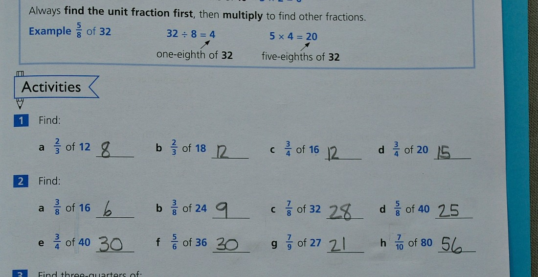 Key Stage 2 Fractions with the Schofield & Sims Understanding maths series