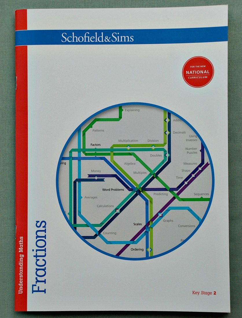 Understanding Maths series by Schofield & Sims. The Key stage 2 Fraction workbook