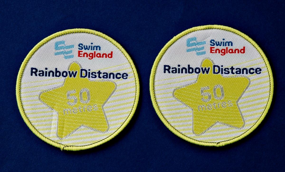 50 m swim distance