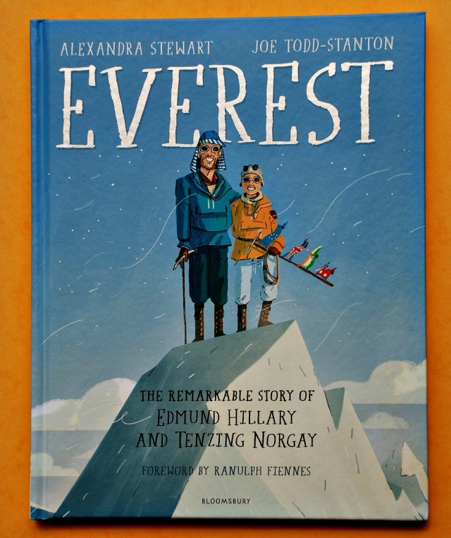 Everest The Remarkable Story of Edmund Hillary and Tenzing Norgay. A brilliant childnre's book all about the first people to climb mount Everest
