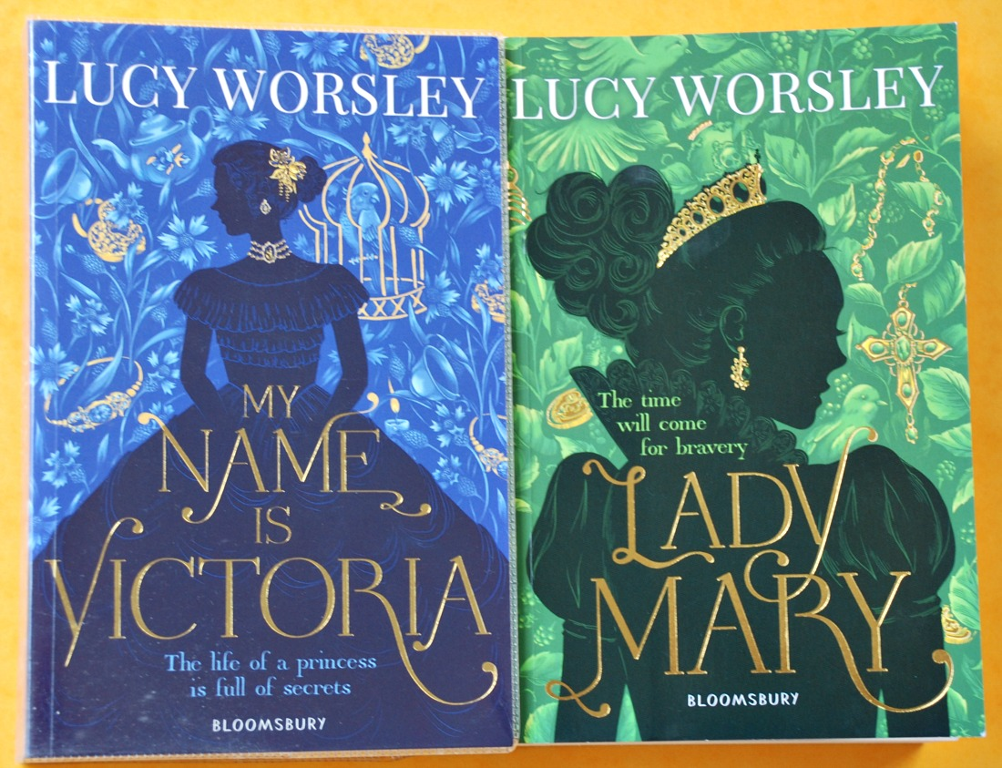 Lady Mary and My name is Victoria both written by Lucy Worsley. Historical fiction for Teens