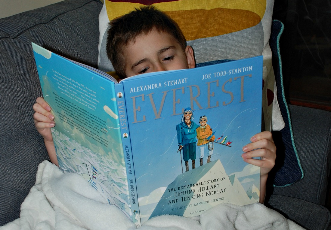 reading Everest the remarkable story of Edmund Hillary and Tenzing Norgay