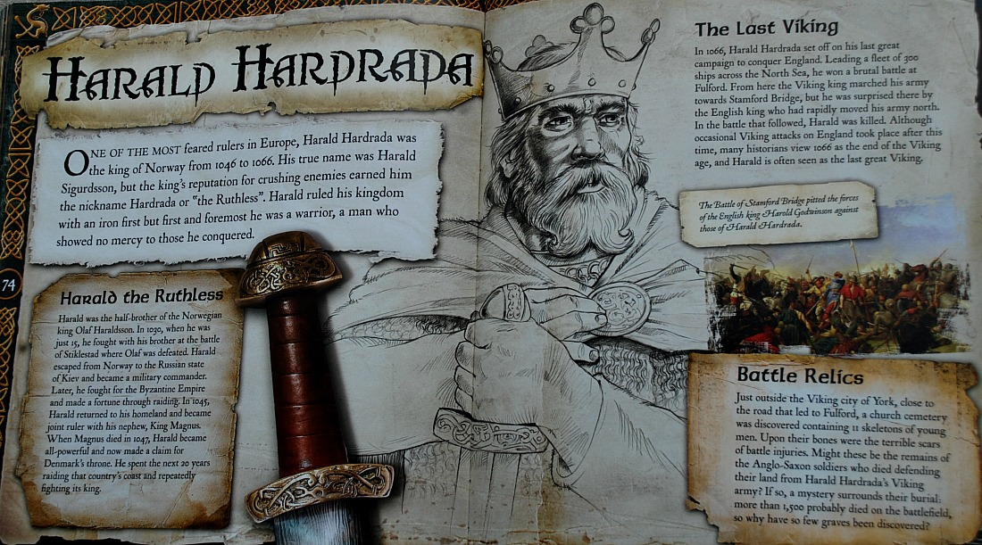 The world of Vikings. Harald Hardrada the last Viking King