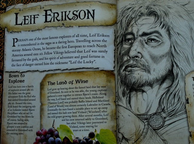 The world of Vikings. Leif Erikson