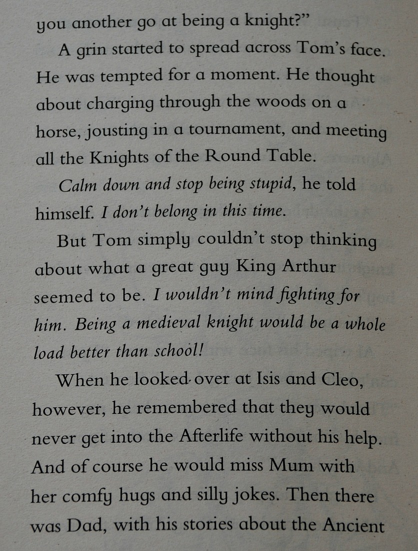 an extract from Time Hunters Knight Quest book written by Chris Blake