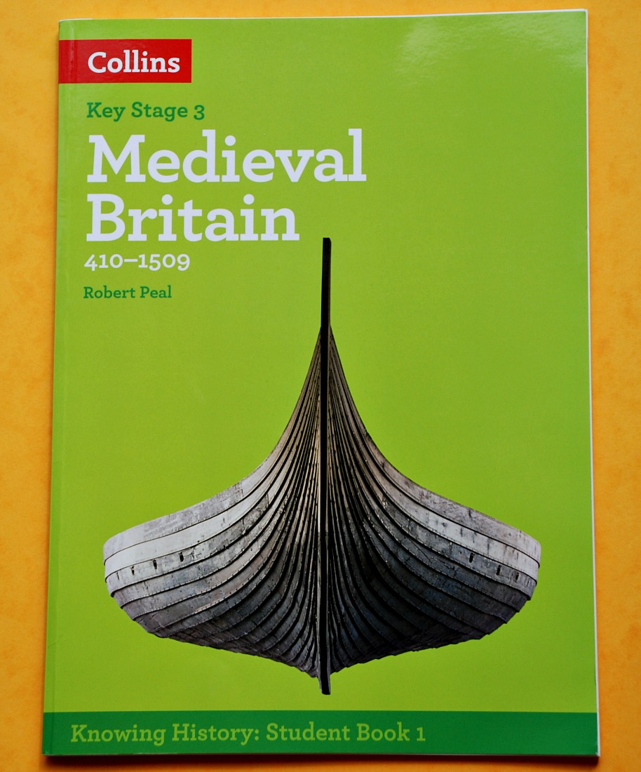 Key Stage 3 History resource from Collins. Medieval Britain student book and Early Modern Britain sudent book