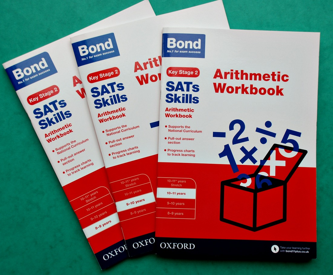 Oxford University Press Bond Key Stage 2 Maths Workbooks. Arithmetic Practice