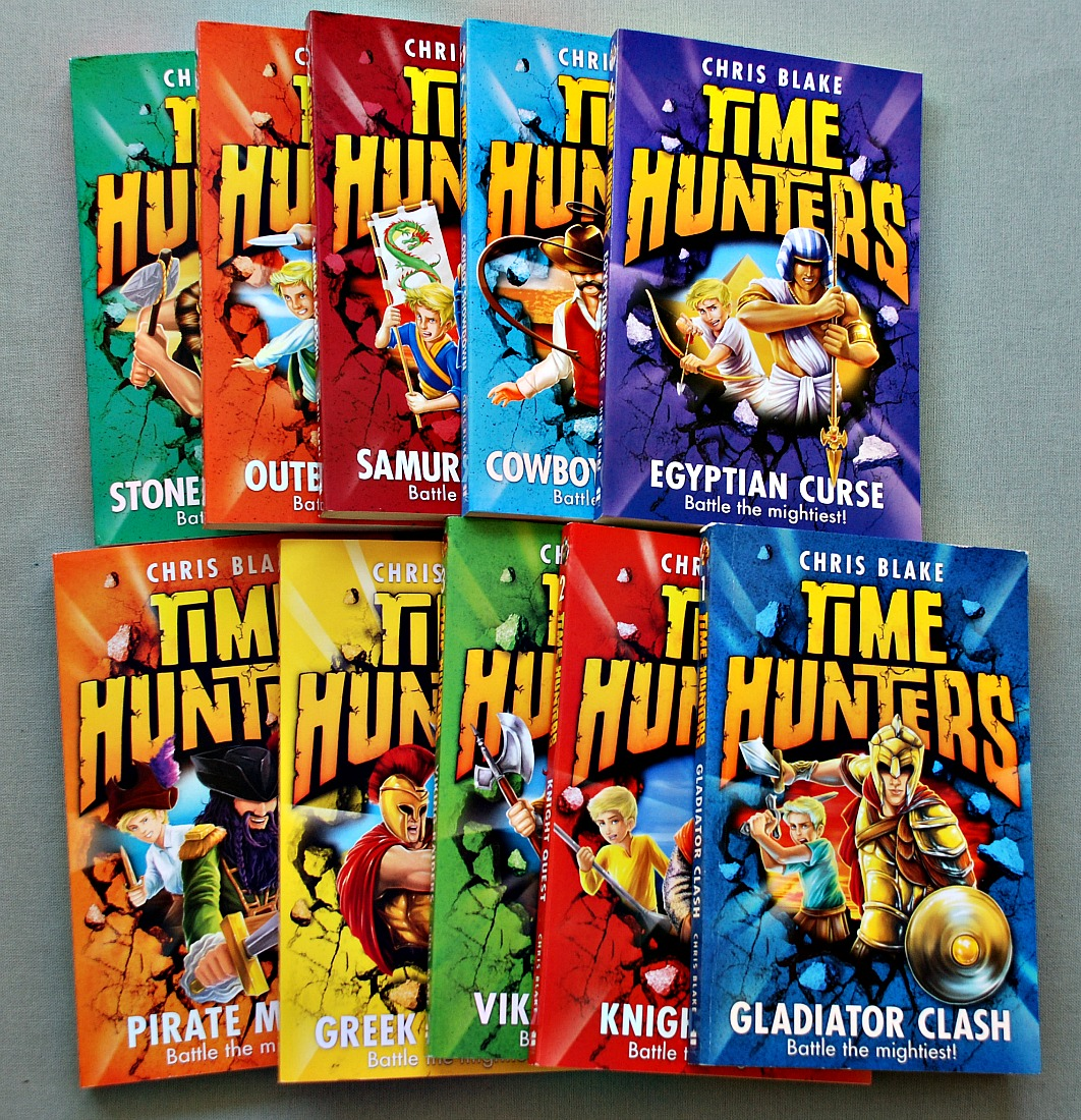 The first 10 of the Time Hunters series. written by Chris Blake