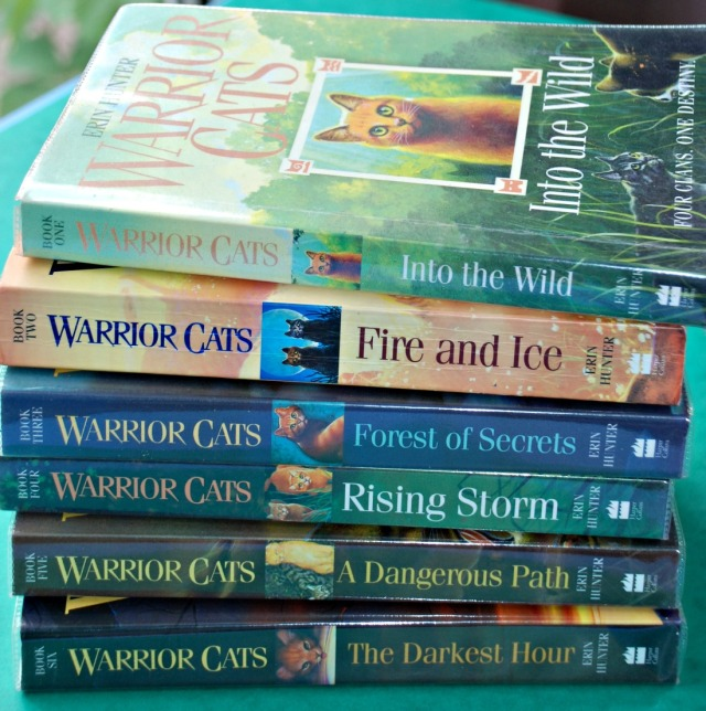 The warrior cat series 1 written by Erin Hunter