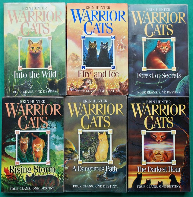 Warrior Cats series 1 books