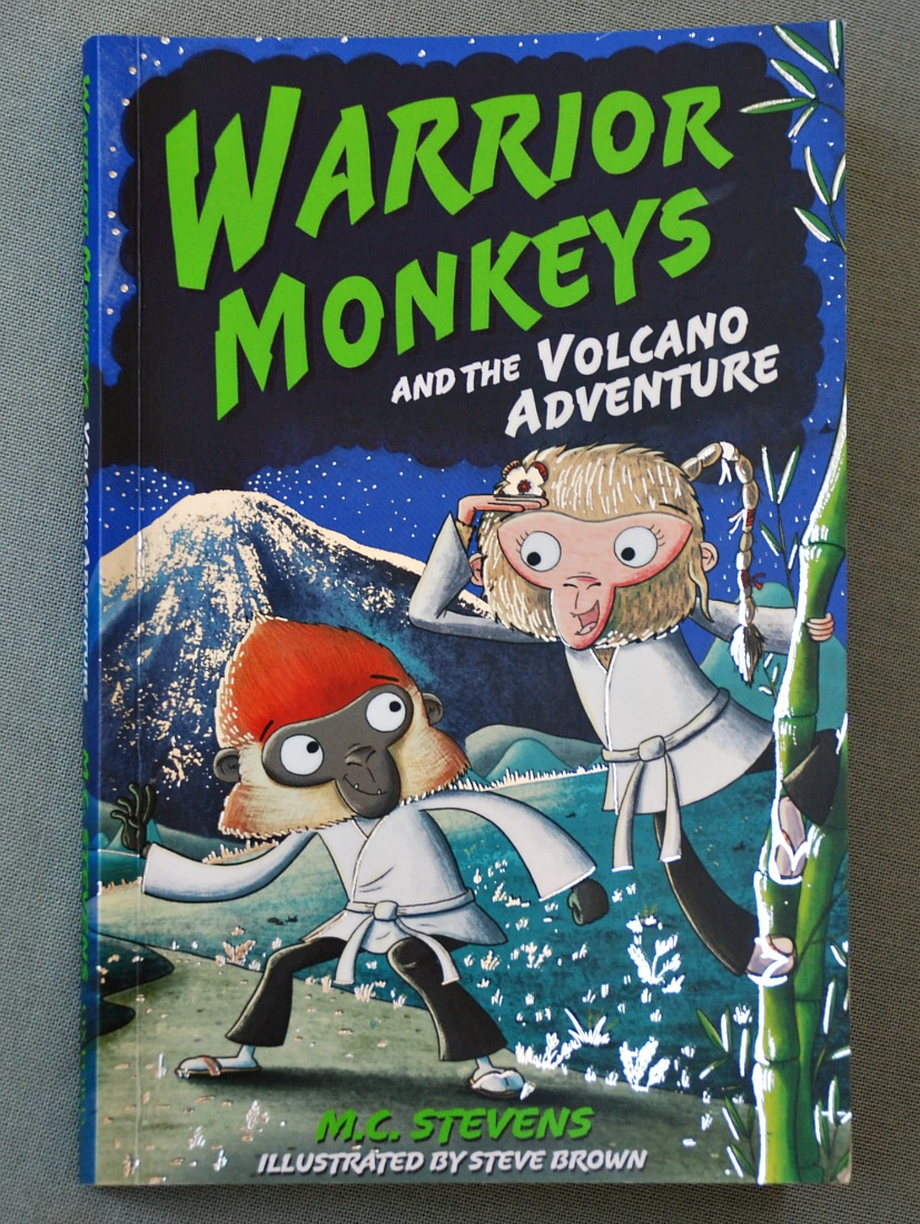 Warrior Monkeys and the Volcano Adventure. A fun adventure story about monkeys and bears that do martial arts