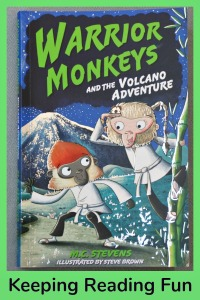 Warrior Monkeys and the Volcano Adventure. A fun adventure story about monkeys who are learning martial arts