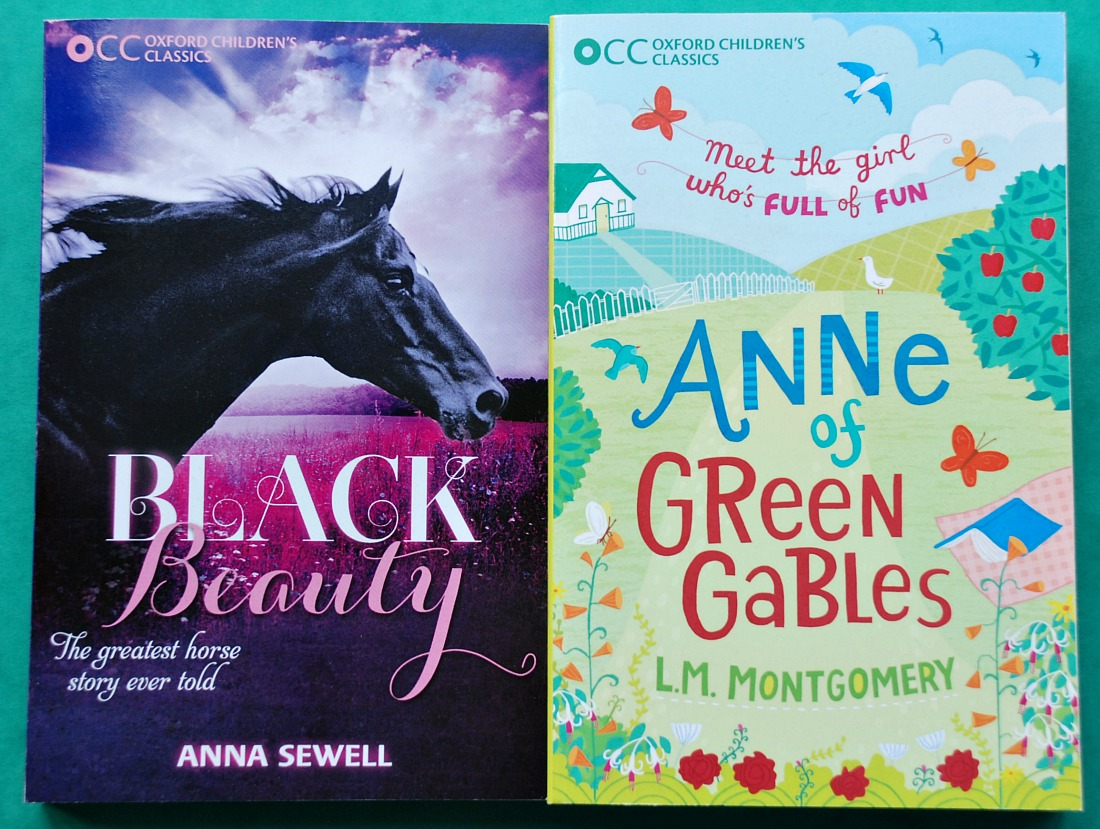 Black Beauty and Anne of Green Gables Oxford Children's Classics