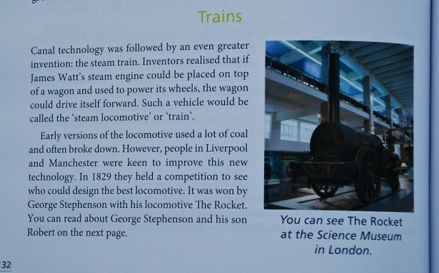 History in the What Your Year 6 Child Needs to Know includes the Industrial revolution in England