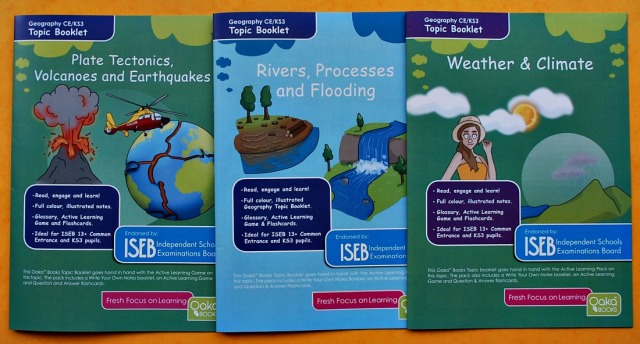 Key Stage 3 Geography Topic Packs from Oaka Books