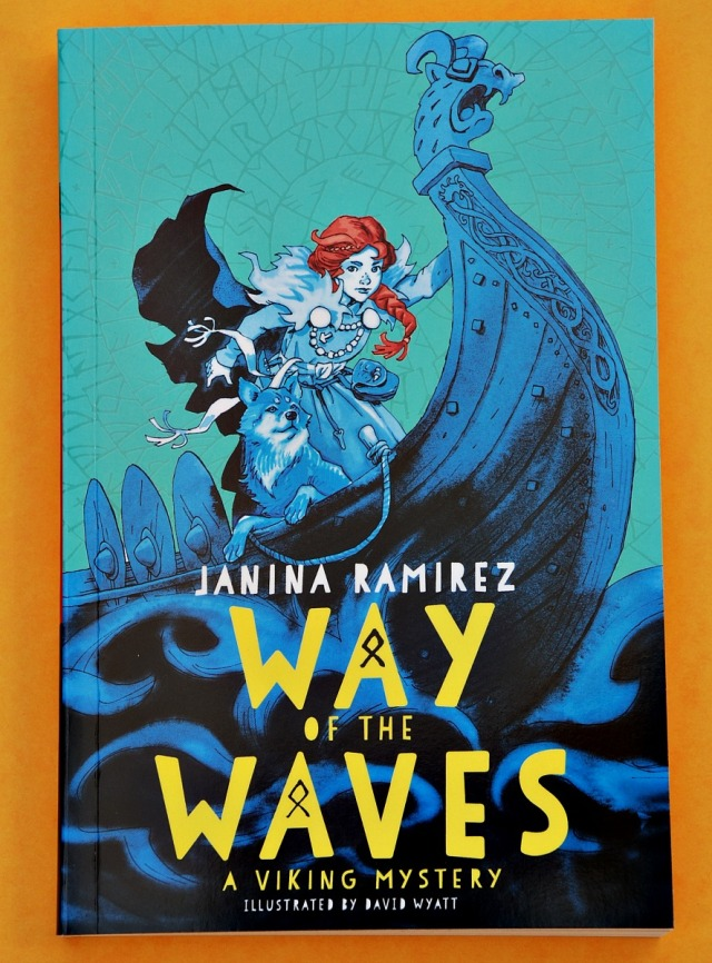 Way of the Waves written by Janina Ramirez. A Viking Mystery. Fun reading filled with historical references perfect for kids. Key stage 2