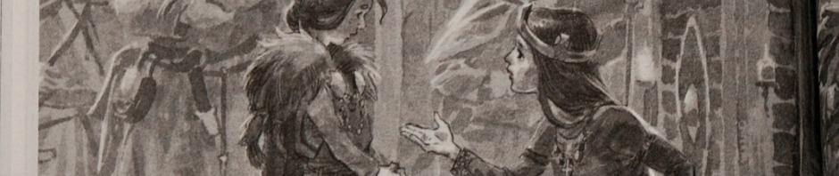 Way of the Waves. Alva meeting Aethelflaed, Queen of the Mercians