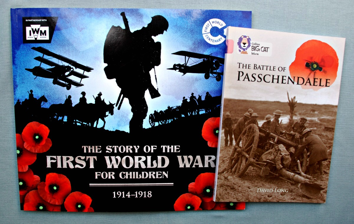 WWI books to read with Tweens and Kids. Informative but not too graphic