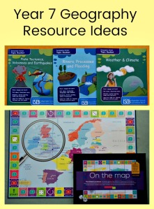 Year 7 Geography Resource Ideas - Topic packs, worksheets, websites and games you can use for Geography for Key Stage 3