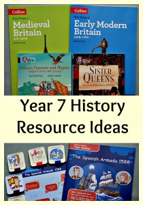 Year 7 History Resource Ideas. Book and website ideas for Key Stage 3 history resources