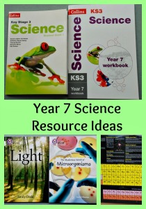 Year 7 Science Resource Ideas. Workbooks, poster, games and other ideas for Science