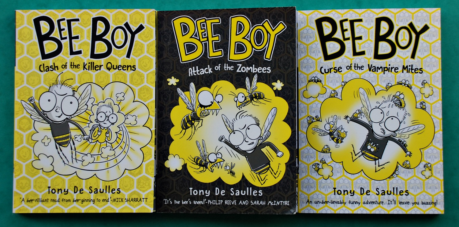 Bee Boy Clash of the Killer Queens, Attack of the Zombees and Curse of the Vampire Mites
