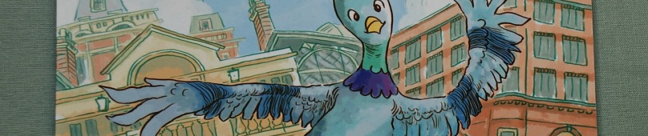 The Tap Dancing Pigeon of Covent Garden written by Serena Hassan