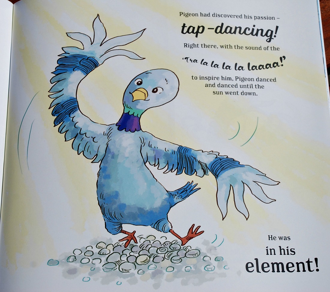 The Tap Dancing Pigeon of Covent Garden. The pigeon that loved to dance