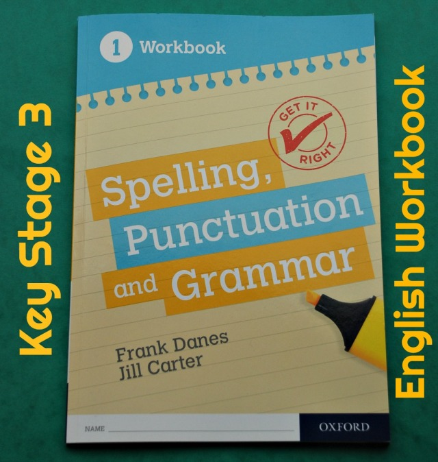 Key Stage 3 English workbook. Get It Right. Spelling, Punctuation and Grammar. perfect for Year 7
