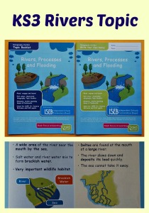 KS3 Rivers Topic for Geography. A topic booklet, write your own notes and a learning game all Oaka Books