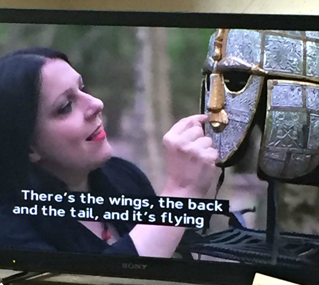 The Sutton Hoo Hoard documentary presented by Janina Ramirez