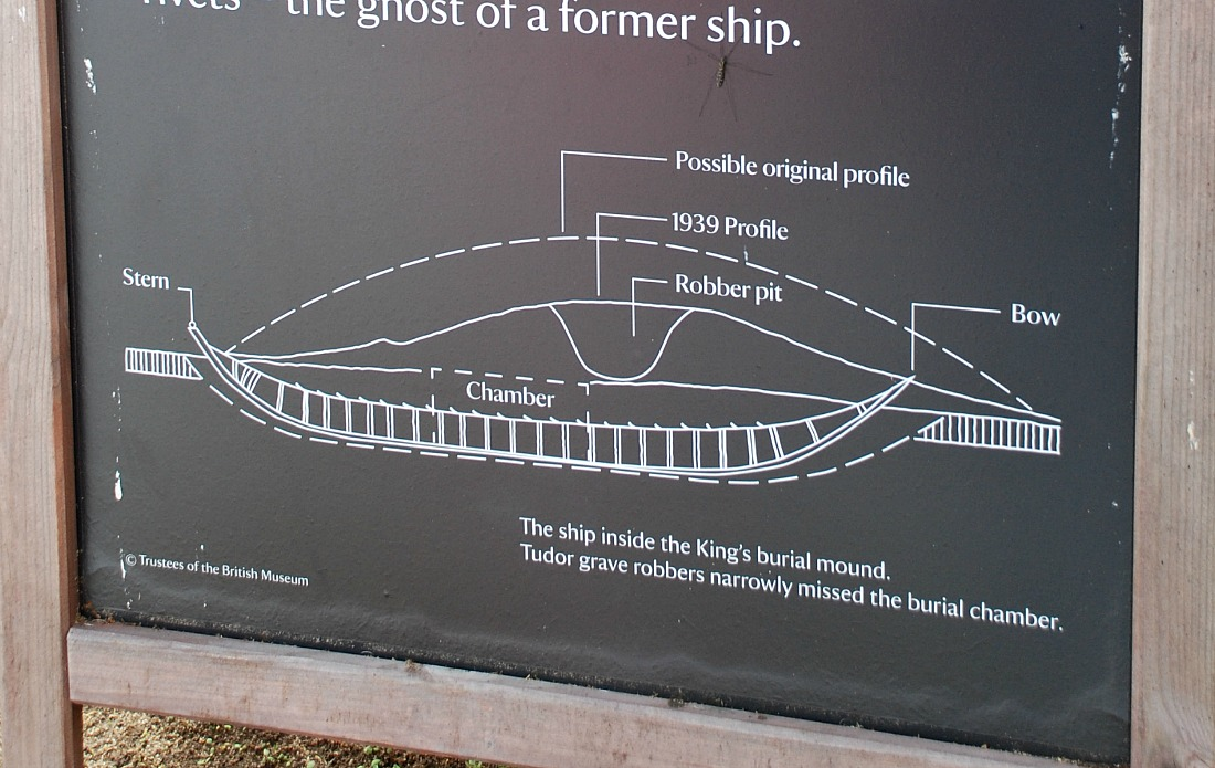 Sutton Hoo the great ship burial