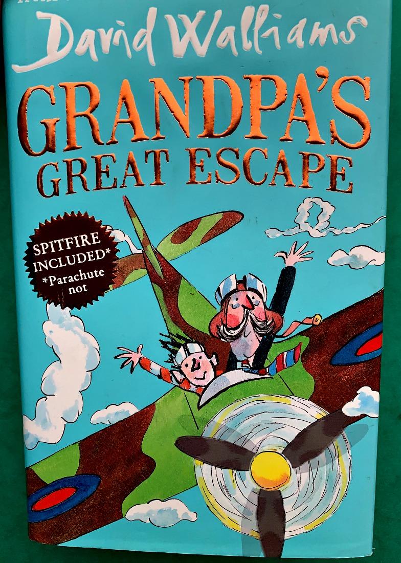 David Williams Grandpa's Great Escape. Brilliant story for 9-12 year olds