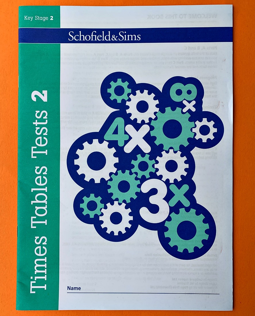 Schofield & Sims Times Tables Tests 2. Key Stage 2 Maths