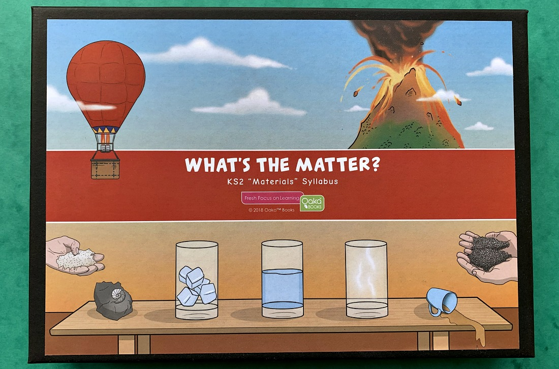 KS2 Science Materials. Board game by Oaka Books