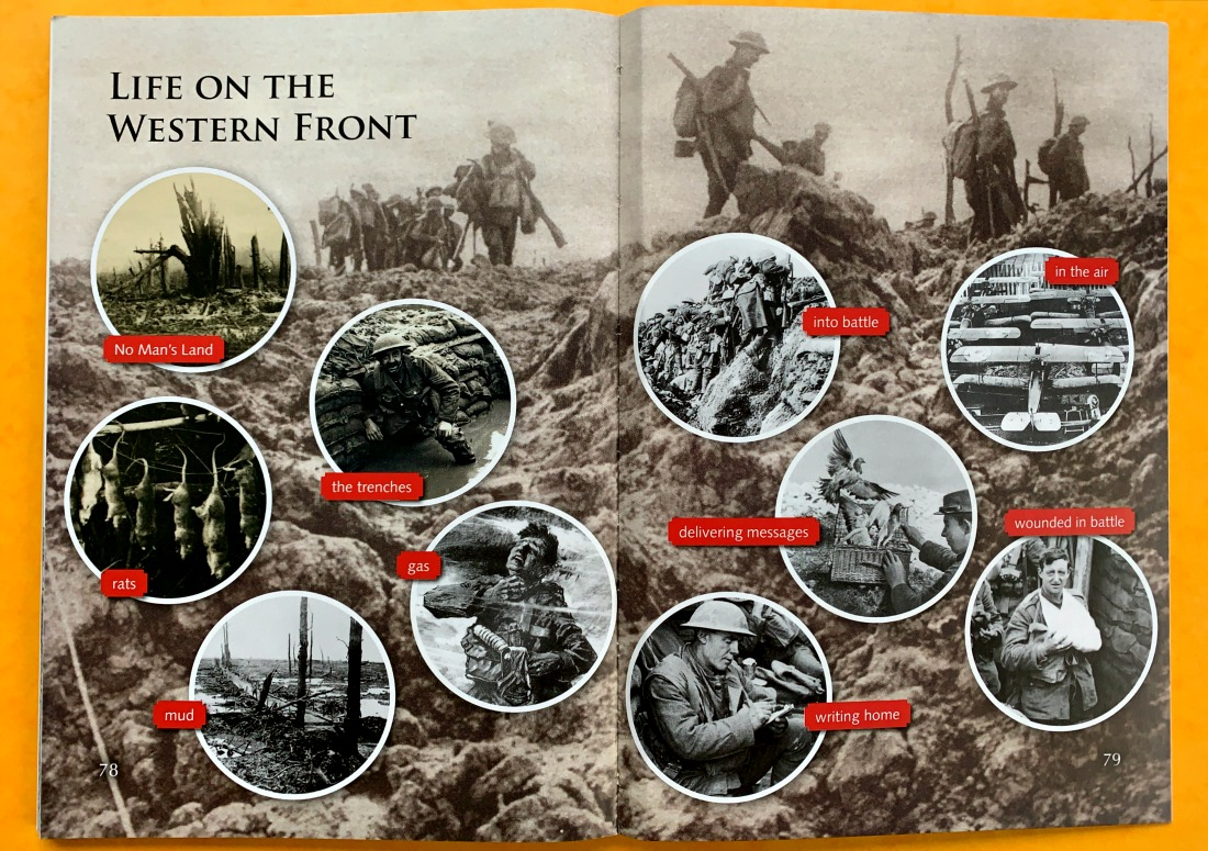 Life on the Western Front in summary pictures