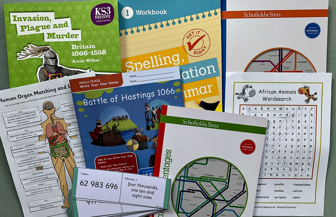 educational resources for home education