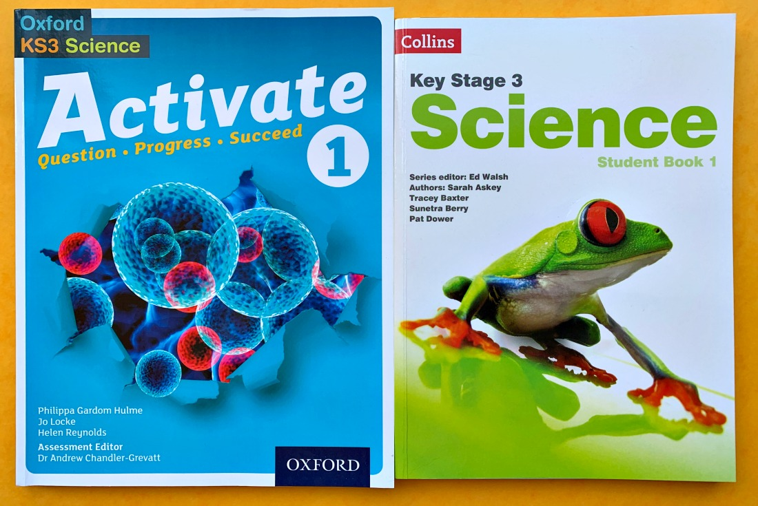 KS3 Science Books by Oxford and Collins