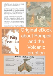 Original eBook from Twinkl Resources about Pompeii and the volcanic eruption