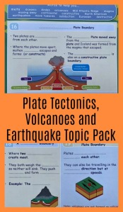 KS3 Topic pack on Plate Tectonics, Volcanoes and Earthquakes. Earth Science clearly explained