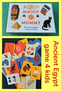 Match A Mummy game. Great for when kids are learning about the Ancient Egyptians