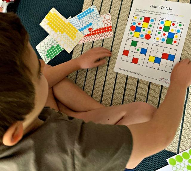 Activity Village colour Sudoku
