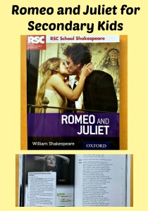 Romeo and Juliet resource for kids to use in Secondary studies. Text and explanation side by side