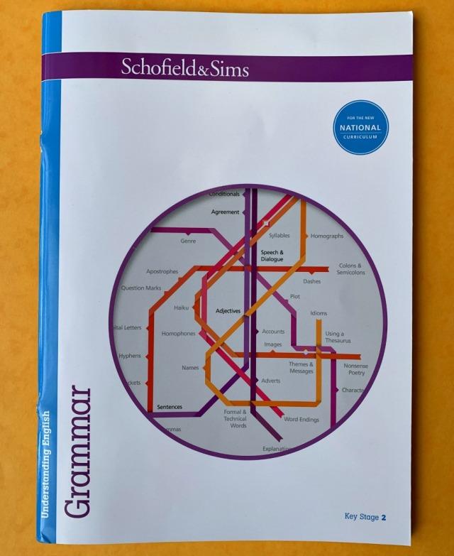 Schofield & Sims Understanding English Grammar KS2 workbook