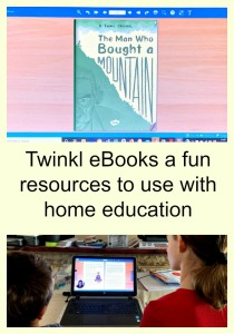 Using Twinkl eBooks as part of our home education. Fun, little prep work involved and the kids learn lots
