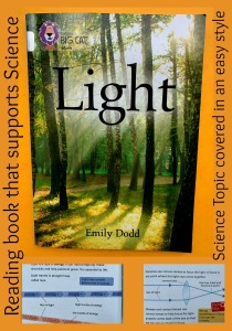 A reader that supports a Science Topic Light. Easy to read and fill of information. Perfect for home learning